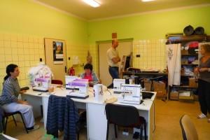 Chráněná šicí dílna v Chotěboři