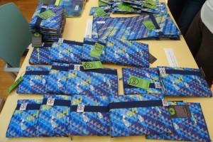 Zaměstnanci Modré pyramidy se seznámili svýrobky