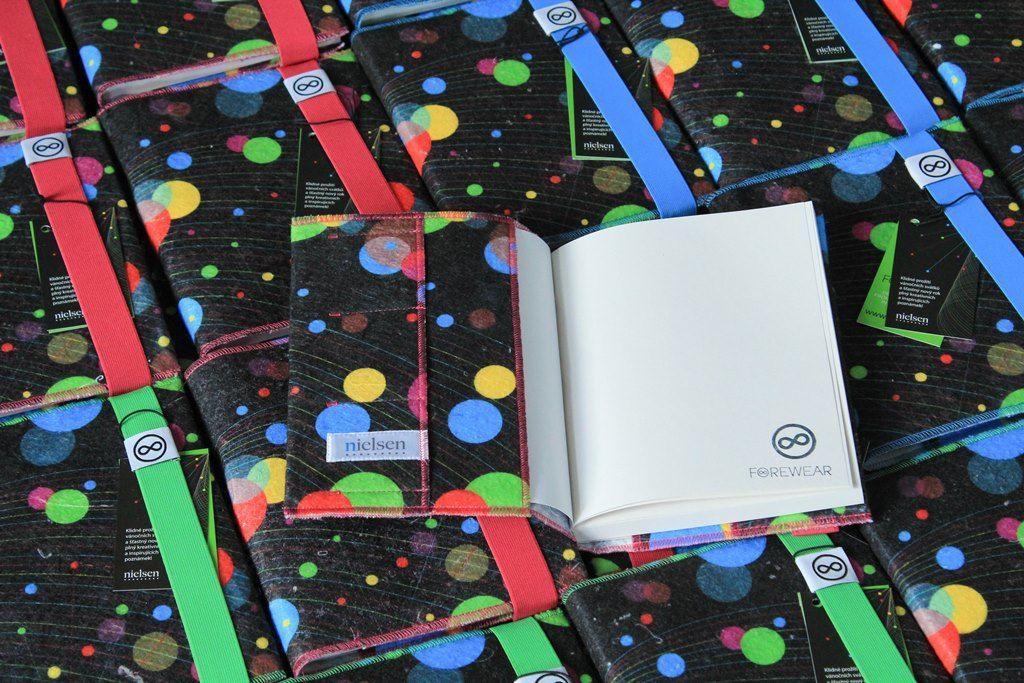 Zápisníky pro společnost Nielsen