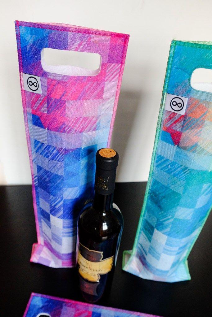 Nový člen naší produktové rodiny - dárkové tašky navíno zrecyklovaného textilu