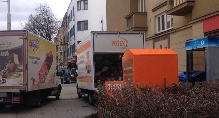 Výběr kontejneru POTEX