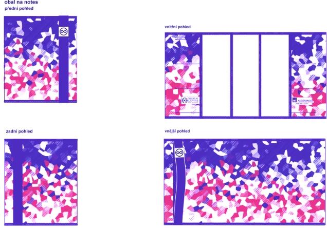 Vizualizace zápisníku pro AXA Assistance