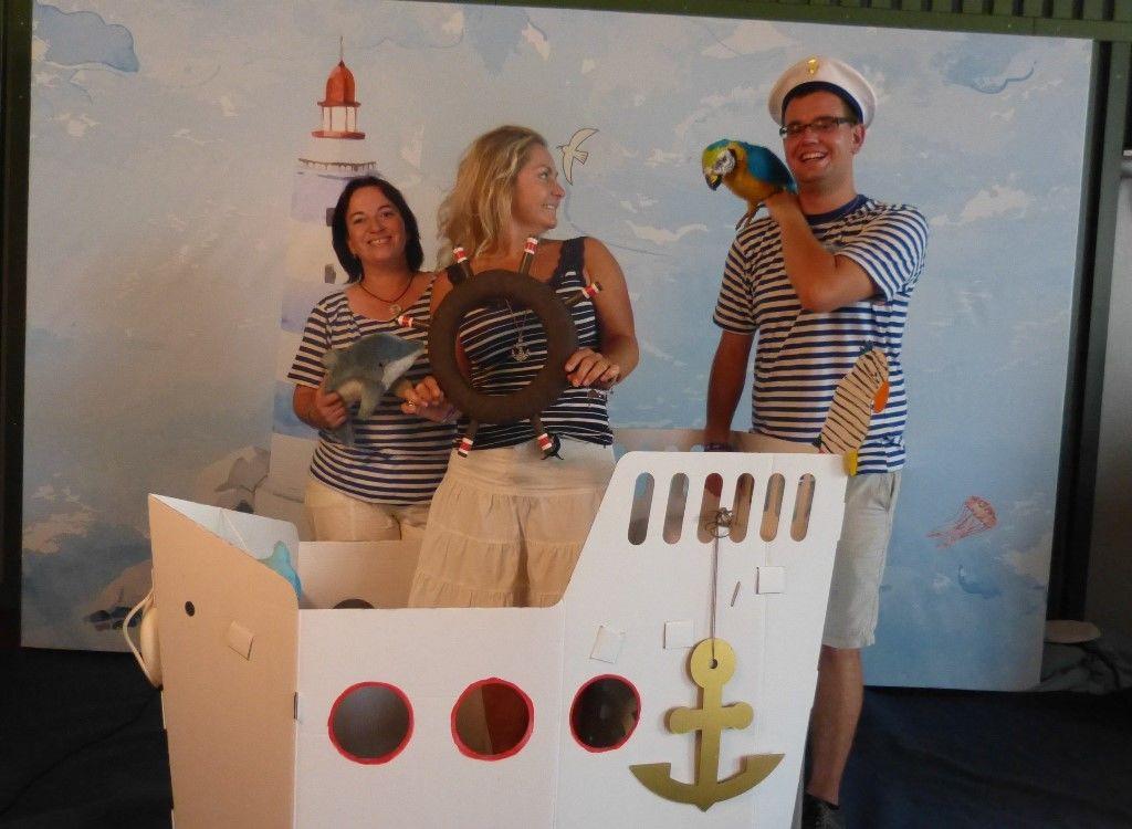 Dětský firemní den natéma Námořníci apiráti