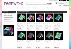E-shop FOREWEAR