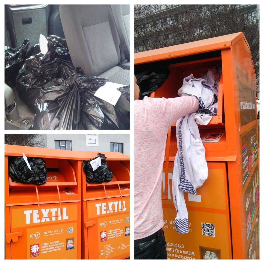 Textilní kontejnery Potex