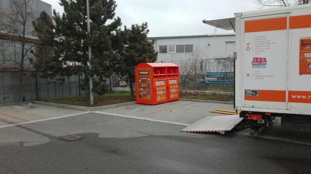 Kontejnery POTEX vRadotíně